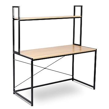 WOLTU TSB02hei Schreibtisch Computertisch Büromöbel PC Tisch ...