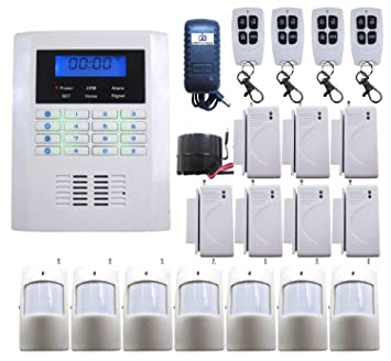 DBPOWER Ja 10bgsm 101 Zones Wireless GSM Home Security Alarm Burglar System  for Fire. Amazon com   DBPOWER Ja 10bgsm 101 Zones Wireless GSM Home