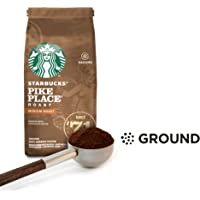 Starbucks Pike Place Medium Roast Ground Coffee Bag, 200g