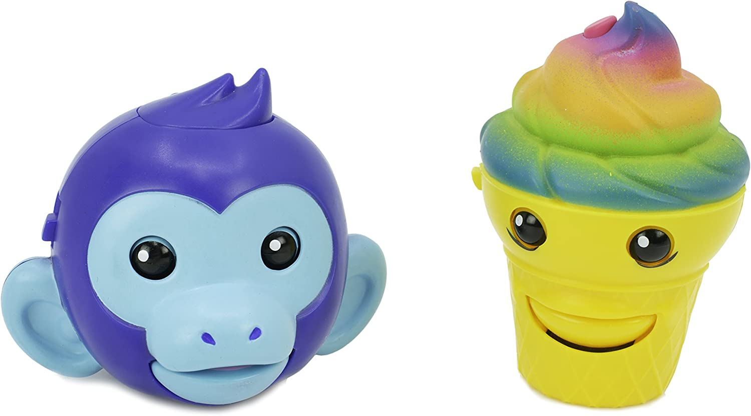 Mojimoto Monkey & Ice Cream Repeating Talk-Back Toy That Records & Repeats and Lip-syncs to Music! (Styles May Vary) by Cepia