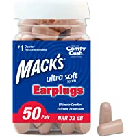 Mack's Ultra Soft Foam Earplugs, 50 Pair