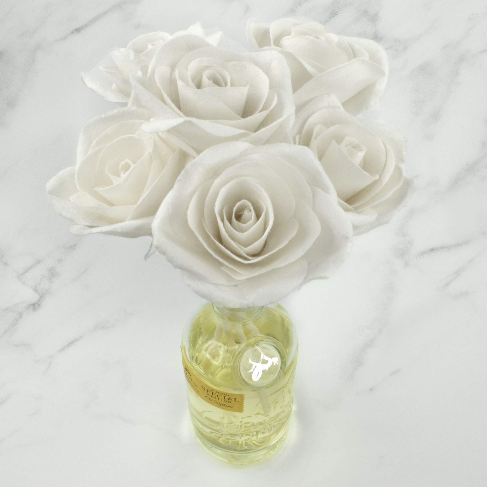 Penny & Rose White Rose Floral Diffuser | Summertime Spirits Oil Scent by PENNY AND ROSE (Image #5)