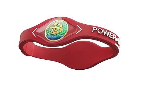 Power Balance Silicone Armband, Red w/White, L, IWSA09RD00WTLP