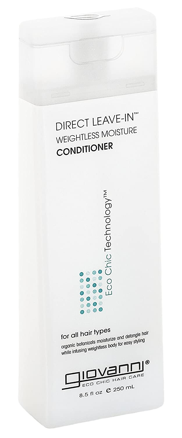 GIOVANNI COSMETICS - Eco Chic Direct Leave-In Conditioner- Weightless Moisture For All Hair Types (8.5 Ounce)