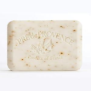 Pre de Provence French Soap Bar with Shea Butter, 250g - White Gardenia