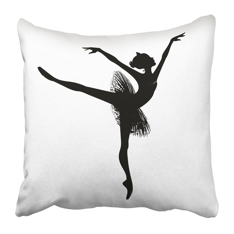 34a5c25403b3 Amazon.com  Emvency Decorative Throw Pillow Covers Cases Ballet ...