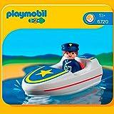 Playmobil - 6720 - Jeu de construction - Policier / bateau