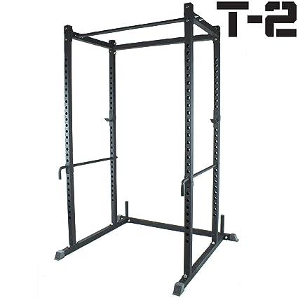 amazon com titan power rack squat deadlift hd lift cage bench racks
