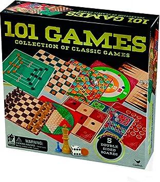 Cardinal Set 101 Juegos (BIZAK 61928377) , color/modelo surtido: Amazon.es: Juguetes y juegos