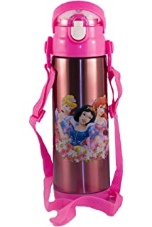 109cf5877e Character Kids Water Bottle Disney Princess 500 ml Bottle for School, Flask  Bottle for Sports