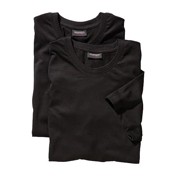 Lot de Deux Tee-Shirt Noir Redfield Grande Taille  Amazon.fr ... a008bcd7bfb8