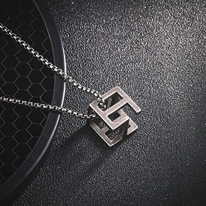 RubikS Cube Necklace 520/1314 Personalidad Street Couple ...
