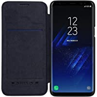 Nillkin Qin Series Royal Leather Flip Case Cover for Samsung Galaxy S9(Black)