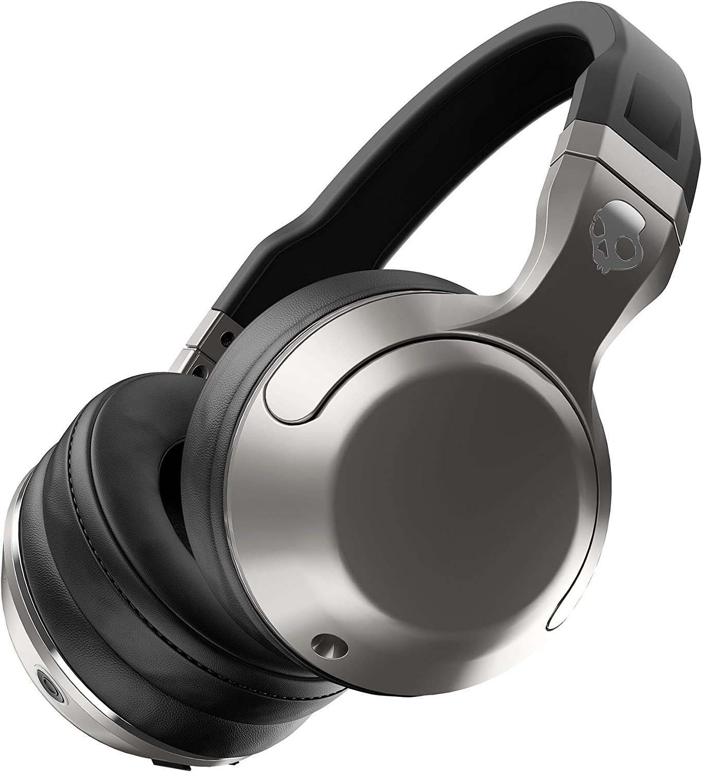 Skullcandy Hesh 2 Bluetooth Wireless Over-Ear Headphones with Microphone, Supreme Sound and Powerful Bass, 15-Hour Rechargeable Battery, Soft Synthetic Leather Ear Cushions (Renewed)