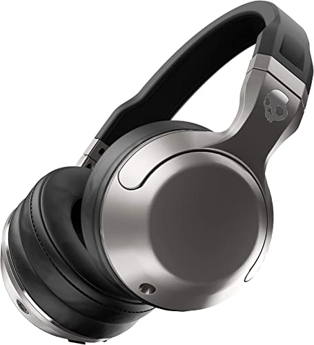 Skullcandy Hesh 2 Bluetooth Wireless Over-Ear Headphones with Microphone, Supreme Sound and Powerful Bass, 15-Hour Rechargeable Battery, Soft Synthetic Leather Ear Cushions Renewed