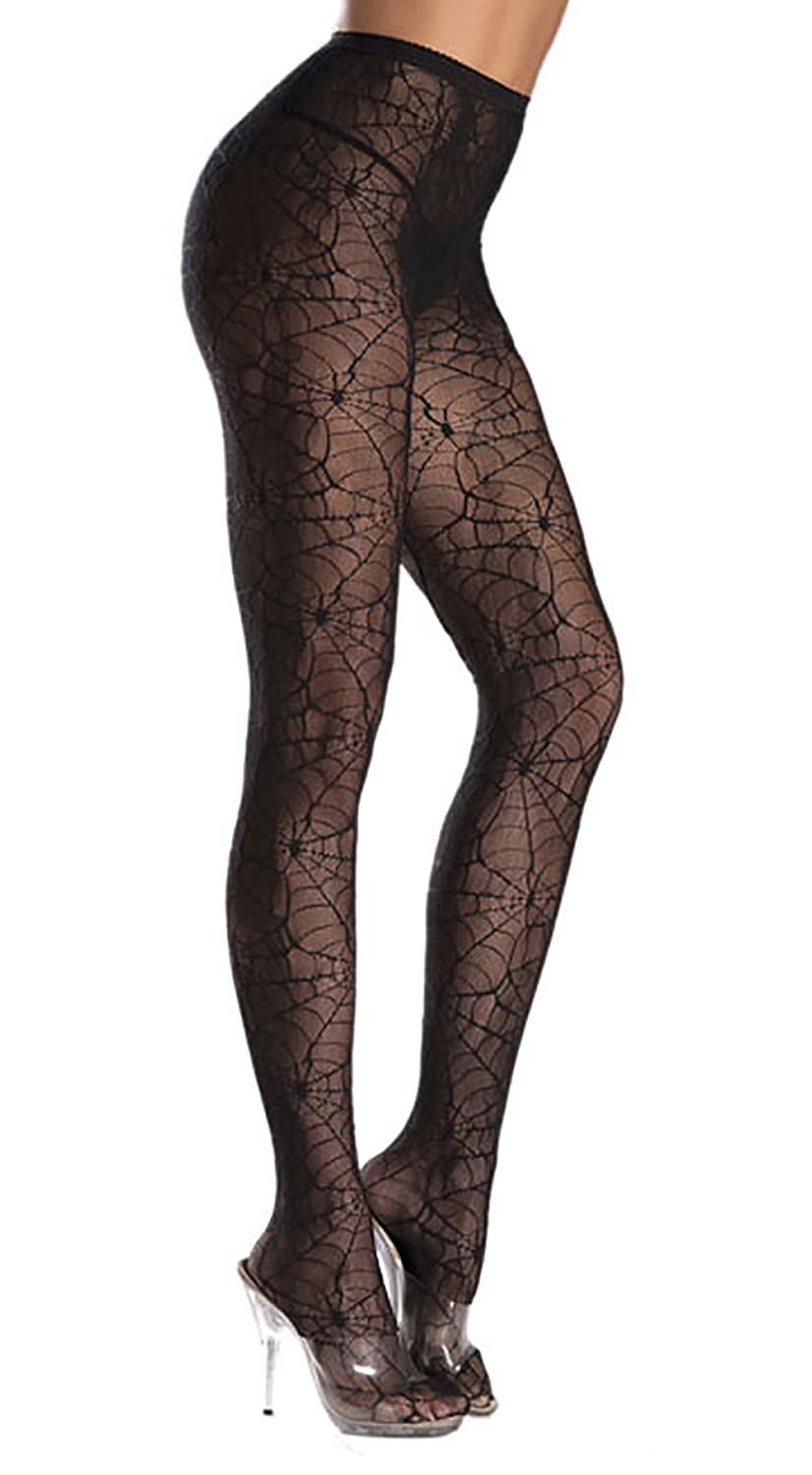 74ac8ee2e 92% Nylon 8% Spandex Imported ✅ ONE PAIR OF SPIDERWEB TIGHTS - The ideal  witch costume tights for that perfect addition to your Halloween Witch  Costume