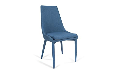 Trendyitalia set sedie metallo blu taglia unica amazon