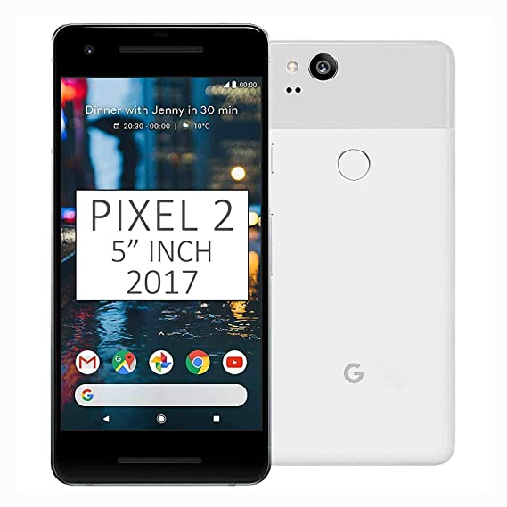 Google Pixel 2 64GB - Clearly White, Google Unlocked Version (Certified  Refurbished)