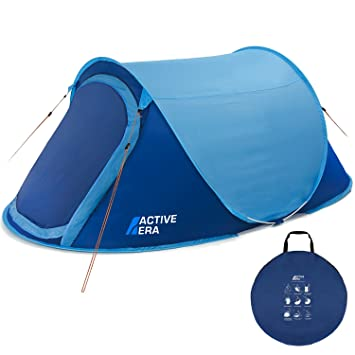 Active Erau0026reg; Large 2 Person Pop Up Tent - Water Resistant Ventilated and Durable  sc 1 st  Amazon UK & Active Era® Large 2 Person Pop Up Tent - Water Resistant ...