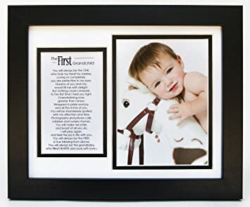 MY 1ST GRANDCHILDREN PHOTO FRAME GRANDPARENTS GIFT BOXED PRESENT HOME DECOR