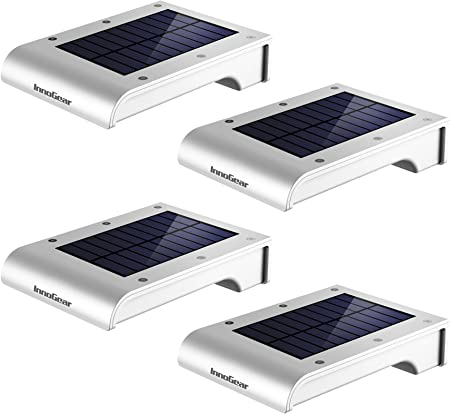 side facing innogear led solar gutter lights