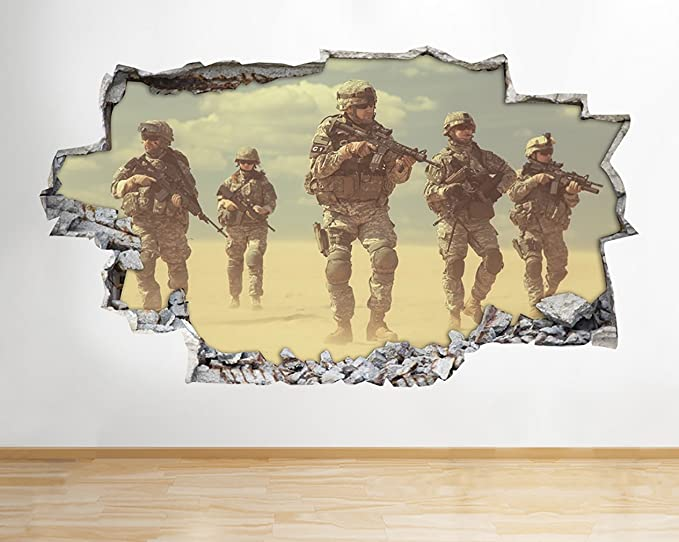 Nice Camo Wall Art Pattern - Wall Art Collections ...