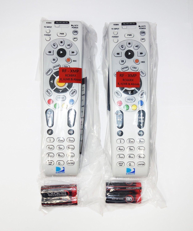2 Pack - DIRECTV IR / RF Universal Remote Control (RC66RX) by DIRECTV
