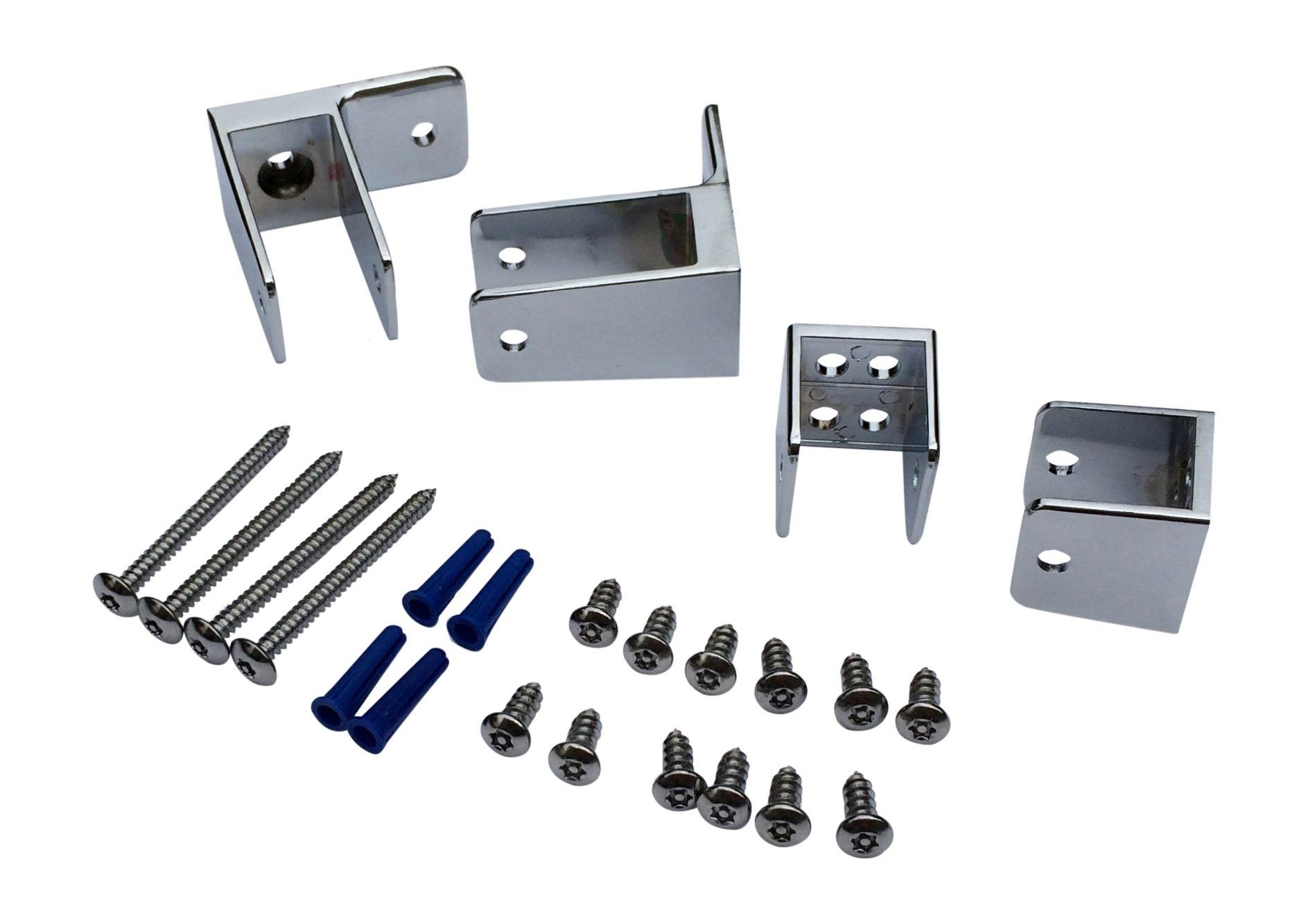 Sanymetal 15520 End Panel Bracket Kit