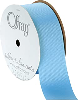 """product image for Berwick Offray 1.5"""" Grosgrain Ribbon, Blue, 10 Yards"""