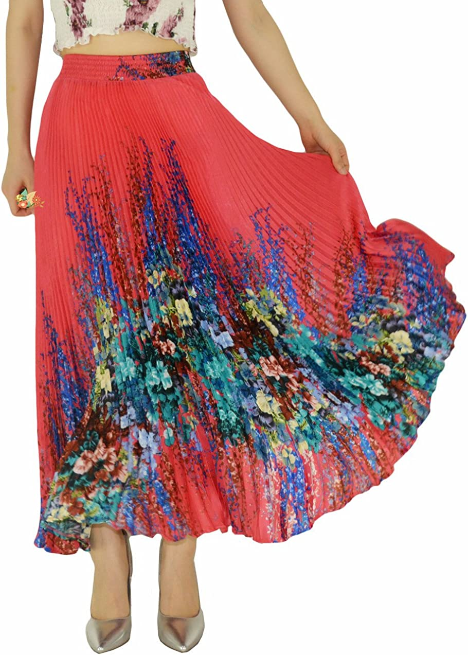 YSJERA Long Maxi Skirt -...