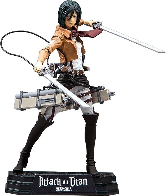 Attack on Titan Mikasa Ackerman 7 inch Color Tops Figura De Acción: Amazon.es: Juguetes y juegos