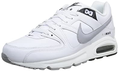 xevix Nike Air Max Command Leather, Mens Trainers, White (White/Wolf