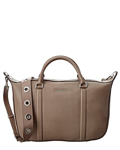 2ee962887277cf ... reduced michael kors raven large leather satchel cinder 70d00 9c1c7