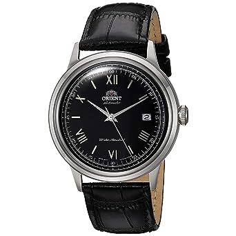 Orient Reloj Analógico para Hombre de Automático con Correa en Cuero FAC0000AB0: Amazon.es: Relojes