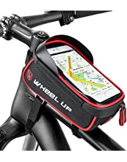 Waterproof Mountain Bike Bicycle Frame Front Tube Bag Mobile Phone Holder Bags