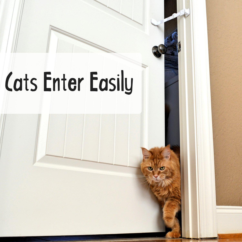 Door Buddy Adjustable Door Strap Latch Easy Way To Dog Proof Litter