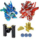 Takara Tomy Japanese Cross Fight B-Daman CB-23 - SUPER CUSTOM SET Power & Rapid-Fire