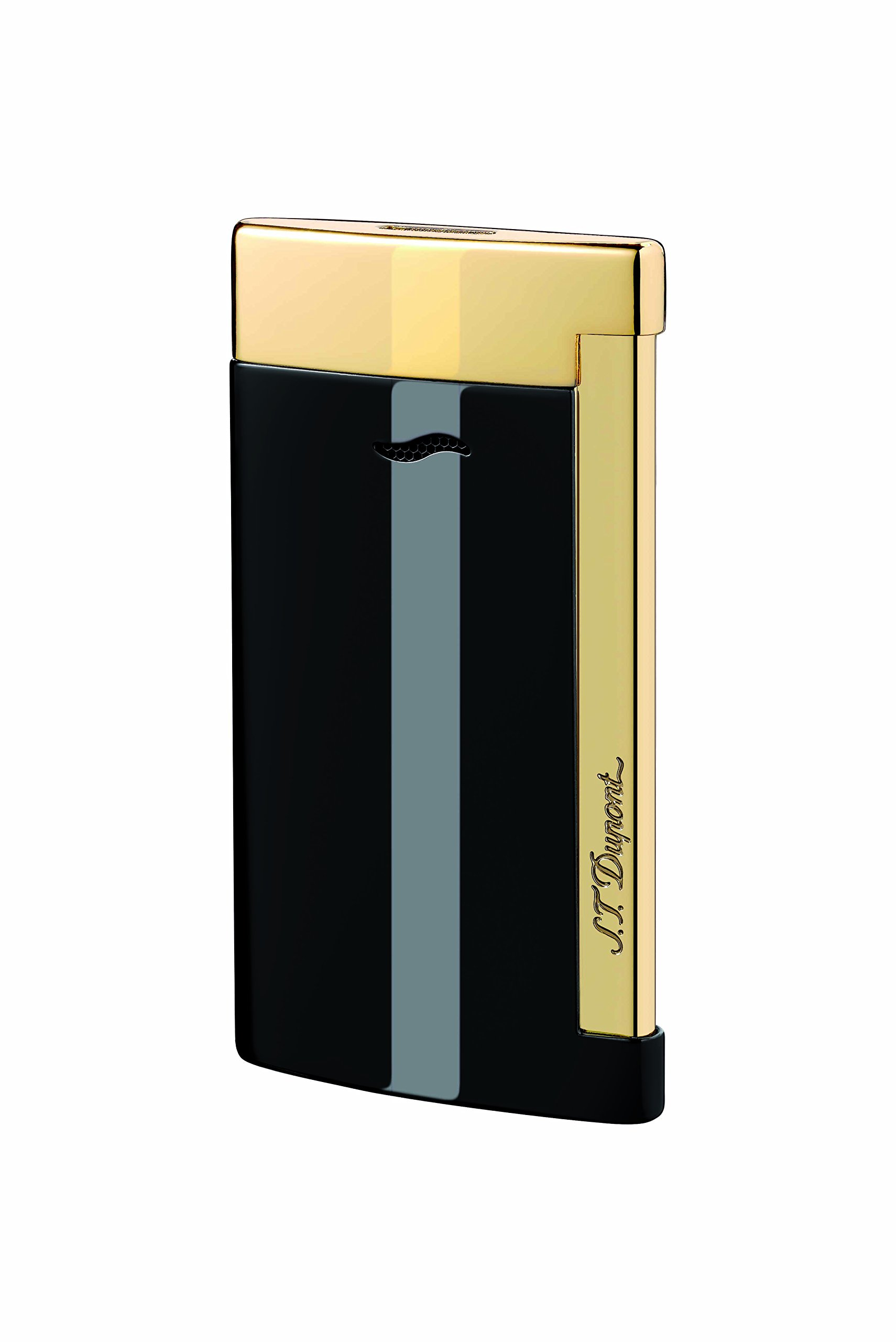 S.T. Dupont Lighter Slim 7 - Black & Gold Finishes