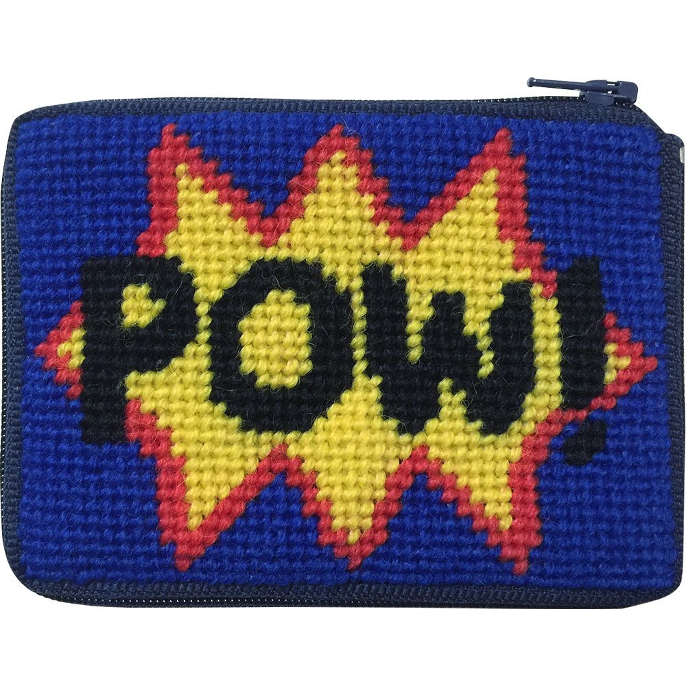 Pow. Aguja Kit de Monedero con lana persa: Amazon.es ...