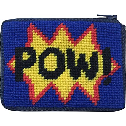 Amazon.com: Pow. Needlepoint – Monedero Kit con persa lana ...