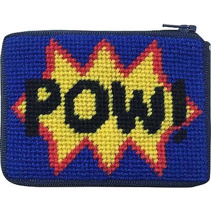 Amazon.com: Pow. Needlepoint – Monedero Kit con persa lana ...