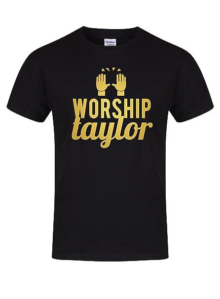 9f415e15 Worship Taylor - Unisex Fit T-Shirt - Fun Slogan Tee: Amazon.co.uk: Clothing