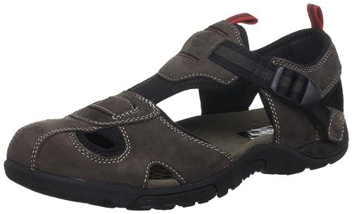 10c946492660a2 Timberland, Sport Toe Sandal, Sandali, Uomo, Brown Nubuck, 50: Amazon.it:  Scarpe e borse
