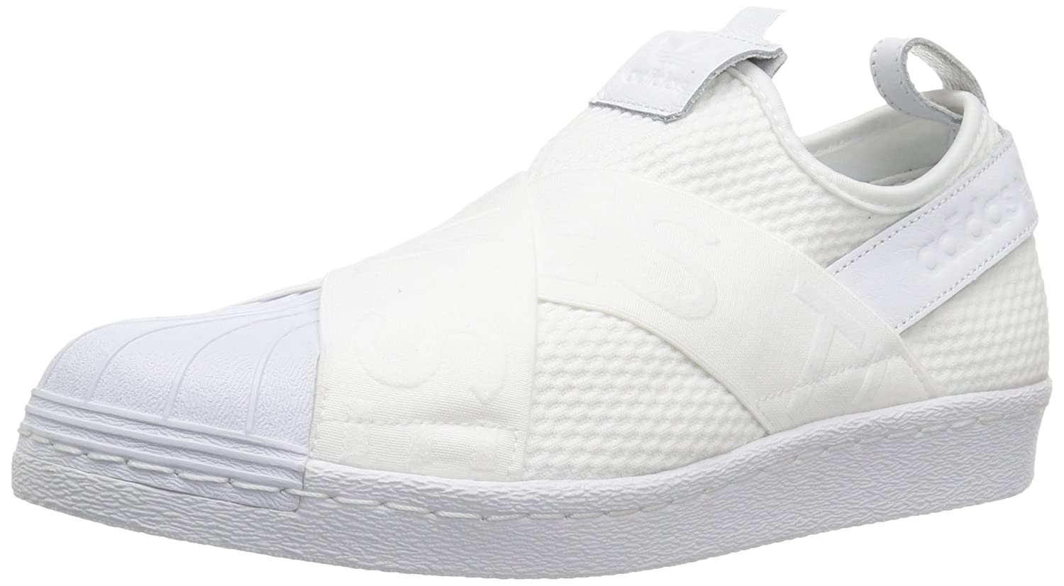official photos 62ed5 e7109 Adidas ORIGINALS Women's Superstar Slipon W Sneaker: Amazon ...