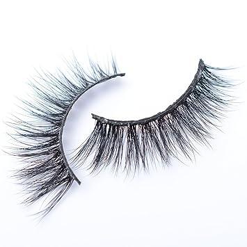 8a231b90149 Amazon.com : Fashion Lash 3D Mink Lashes Hand-made Dramatic Makeup Strip  Lashes 100% Siberian Fur Fake Eyelashes Deluxe False Lashes Black Nature  Fluffy ...