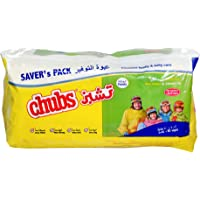 Chubs Family Wipes 40's Pack Alnd & Shea Bter-2X40 Wipes, Piece of 80