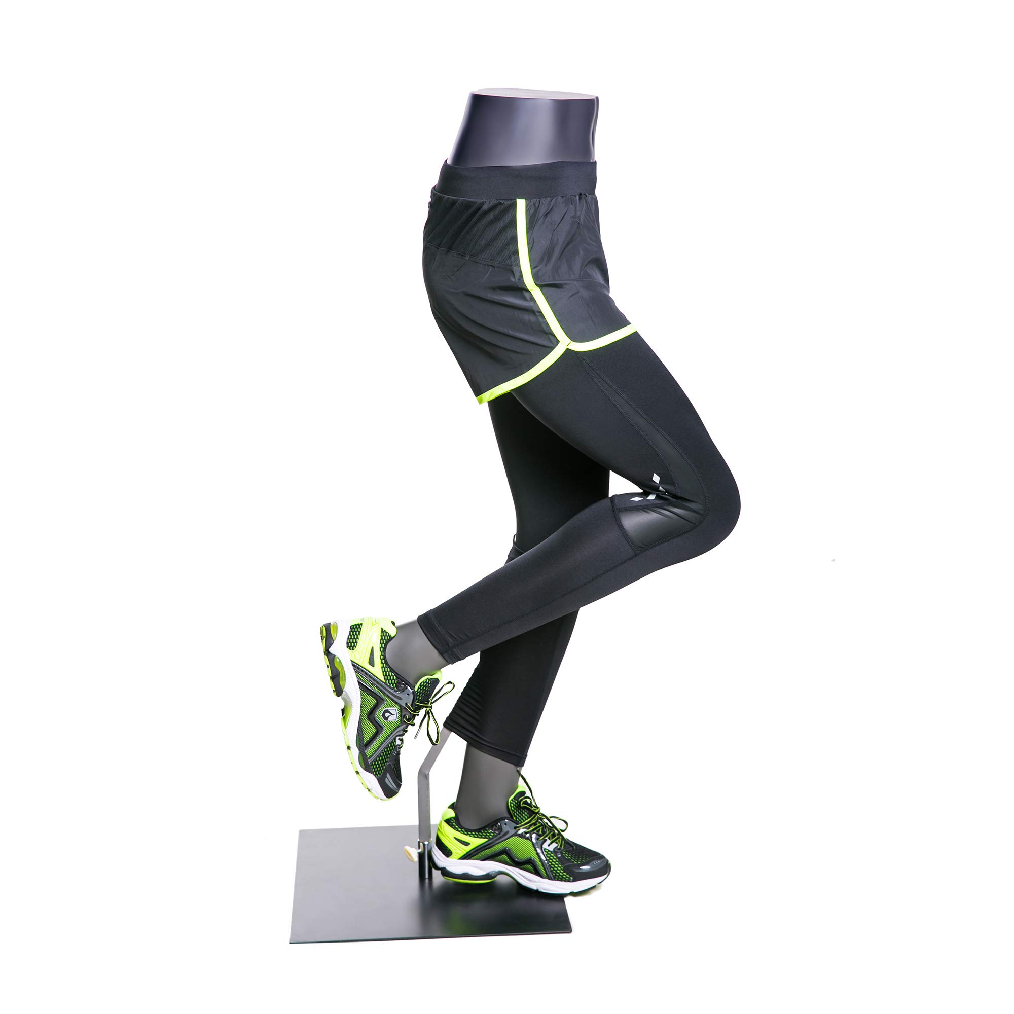 (MZ-HEF51LEG) High end Quality. Eye Catching Female Headless Mannequin Leg, Athletic Style. Running Pose. by Roxy Display (Image #3)