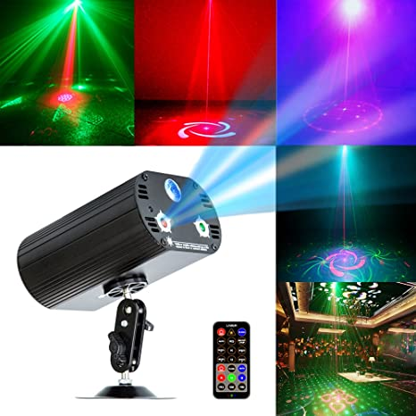 amazon com party light disco lights tongk stage projection effects rh amazon com sound activated lighting sound activated light strip