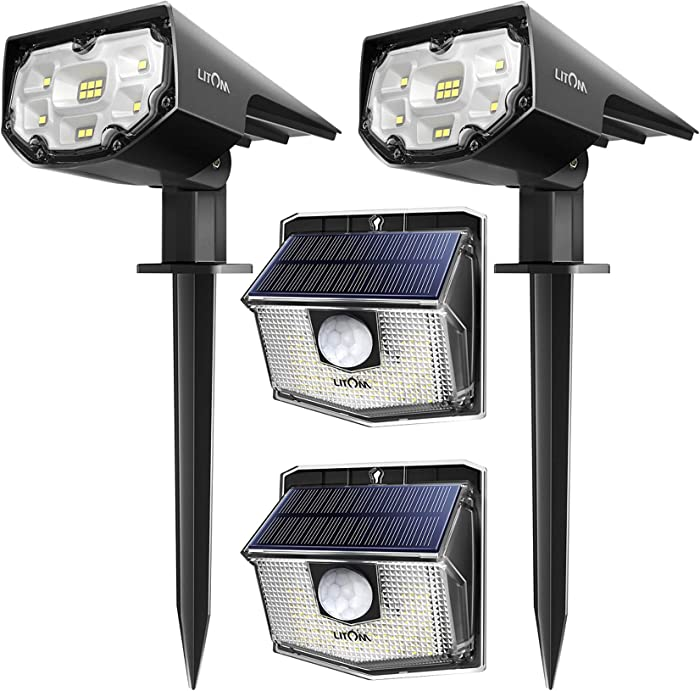 The Best Motion Sensor Solar Outdoor Garden Drive Way Light