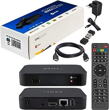 mag 322 Original Infomir / HB-Digital IPTV Set Top Box Multimedia ...